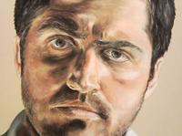 Portrait of me / Rembrant Pastel