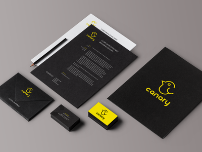 Canary - Branding Stationery