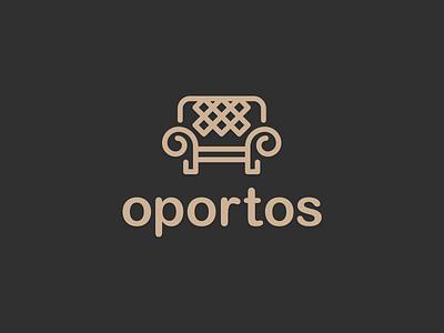 oportos - Furniture branding redesign logotipo portugal sofa branding furniture furniture logo logos