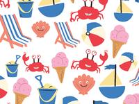 Beach Repeat Pattern