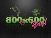 800x600, yay!