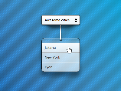 Rope Dropdown (HTML, CSS, JS) transparent dropdown rope jakarta lyon simple css3 html javascript demo only shadow new york indonesia