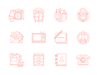 Phone Launcher Theme Icons