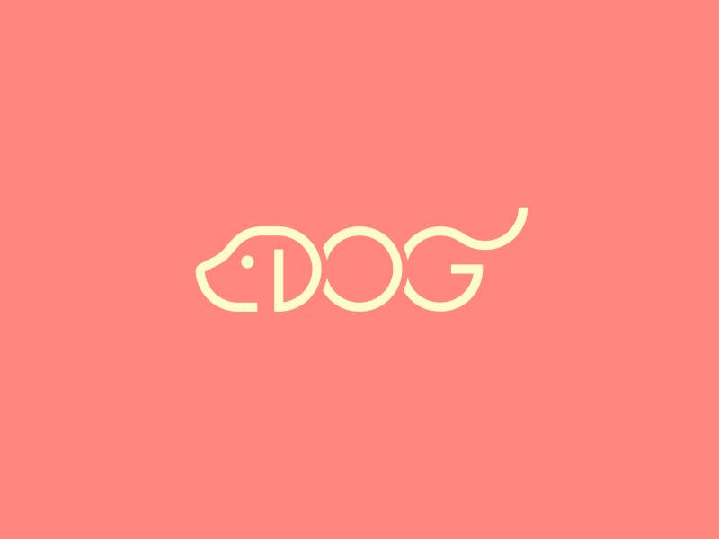 'Dog' Logo study study logo dog