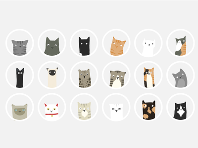 Cats ios mobile game assets