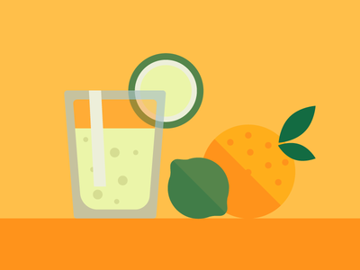 Lemon library open source illustration