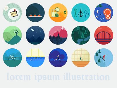 Lorem ipsum illustration open source library illustration github mit licence