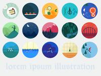 Lorem ipsum illustration