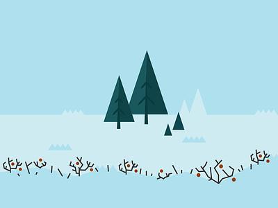 Sno3 snow illustration illustrator vector open source