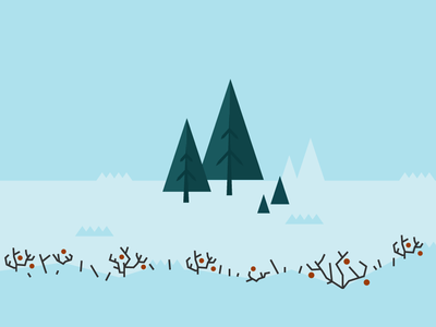 Sno3 snow illustration illustrator vector open source