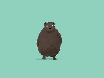Bear Happens bear illustration ipad app jot touch 4 pro create