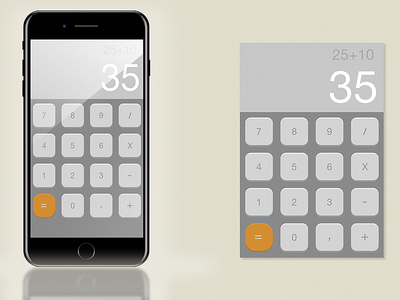 004 - Calculator #dailyui
