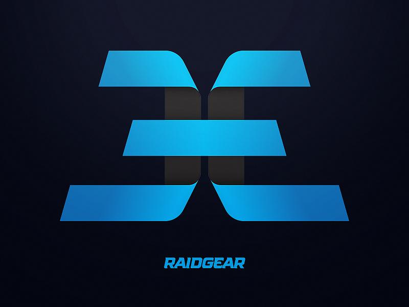 Ever eSports clean black blue chris mitchell logo branding esports ever