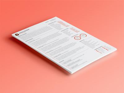 Personal résumé resume cv curriculum vitae profile professional skills work education contact