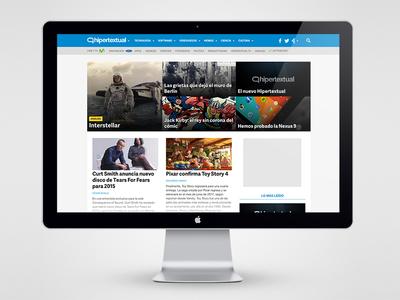 New header for a fresh (re)start  header website web design navigation home categories editorial blog
