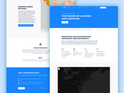 CARTO - Location Data Services page cartodb carto maps gis location location data services data basemaps georeference data observatory isolines routing