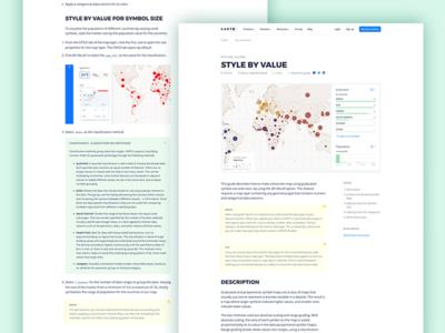CARTO - Guide tutorials cheatsheet guides learn learning web design maps gis location cartodb carto