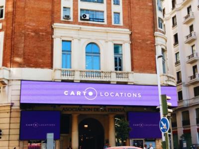 CARTO Locations event madrid slides roll up posters branding videos event carto locations carto