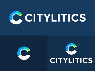 Citylitics Logo (Light) brand design branding logodesign logos logo