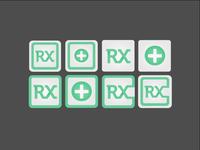 Rx Posts App Icon Designs