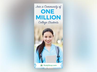 StudySoup Pinterest Ad Design branding pinterest design college school study elite-notetaker studysoup
