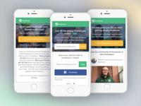 StudySoup Elite Notetaker Referral Program Mobile UI