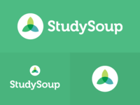 StudySoup Logo and Icon design on green