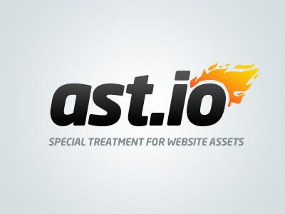 ast.io logo logo logotype flame simple ast.io