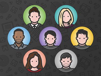 The Team icon avatar team iconfinder