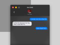 Noti SMS Conversation View