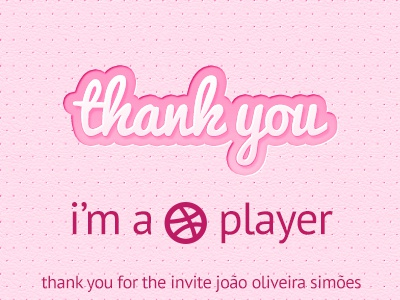 thank you :) thank you invite player