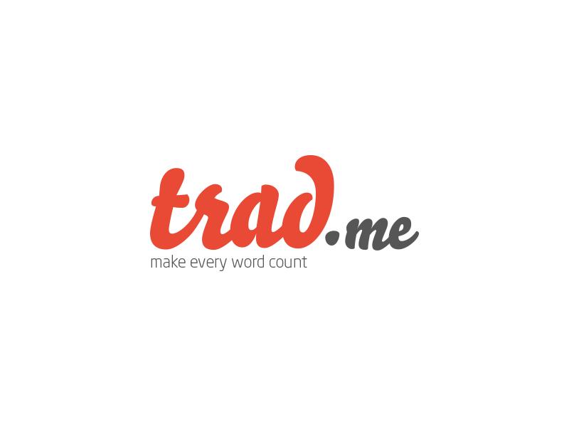 trad.me logo branding