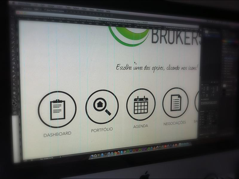 iPad app - Work in progress ipad app brokers