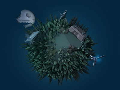 Low Poly Endor