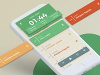 42kRosu - Run Tracker UI - Marathon Training App