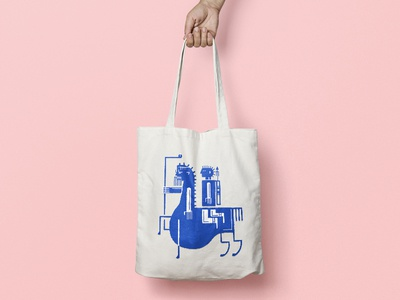 Tote Bag Chiron and Heracles