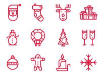 Icons Xmas