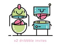x2 invites
