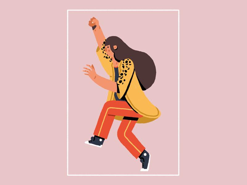 Kimono #2 drawing kimono demonstration dancing women day illustration