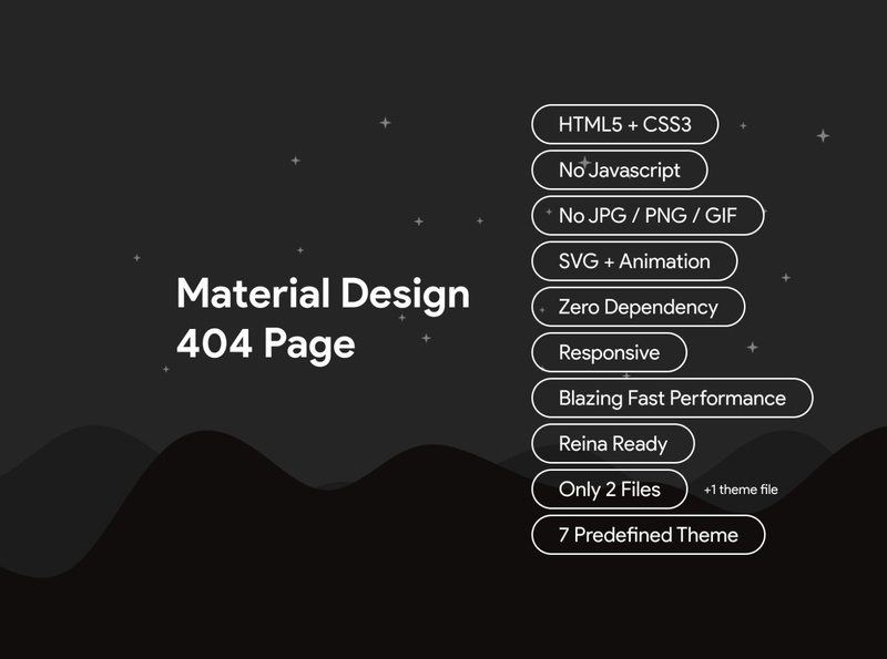Material Design 404 Page mistake flat error page custom error material design 2 material design error message error page forbidden 403 404 error error 404