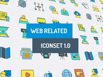 Web Related Icon Set
