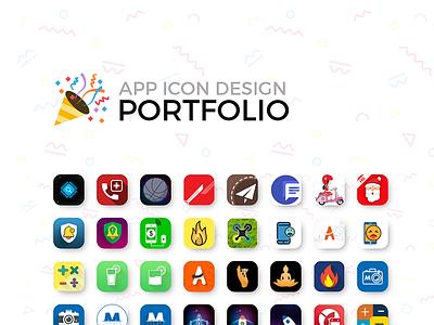 App Icon Portfolios icon design flat icon app icon