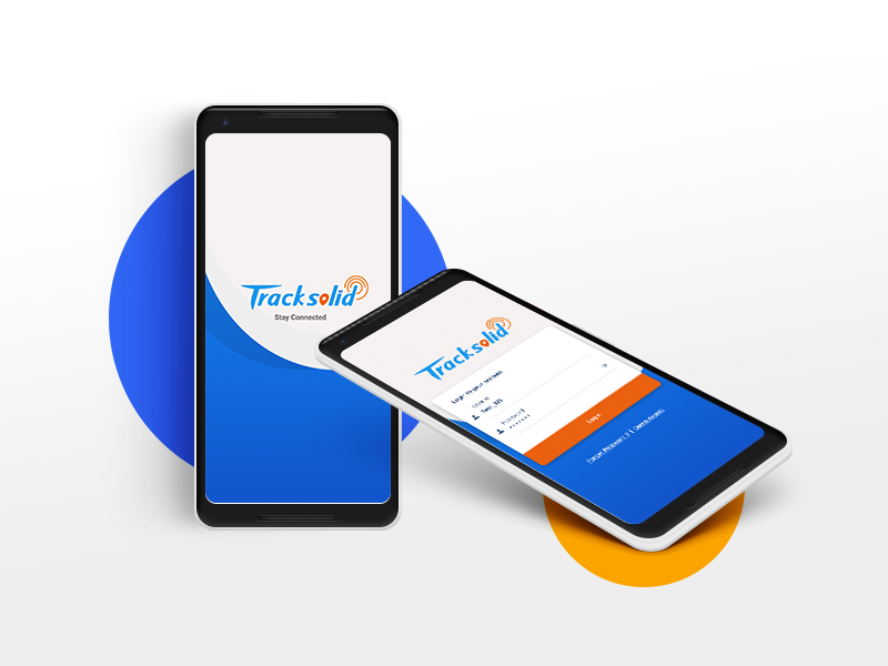 Tracksolid App Ui Login Screen And Splash Screen