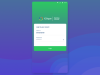 Cool Login Design App UI UX