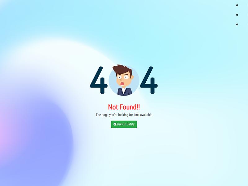 404   Page Not Found 404 page 404 error 404 not found error flat design