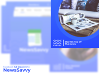 Facebook Ad Creative for NewsSavvy