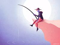 Fisherman animation