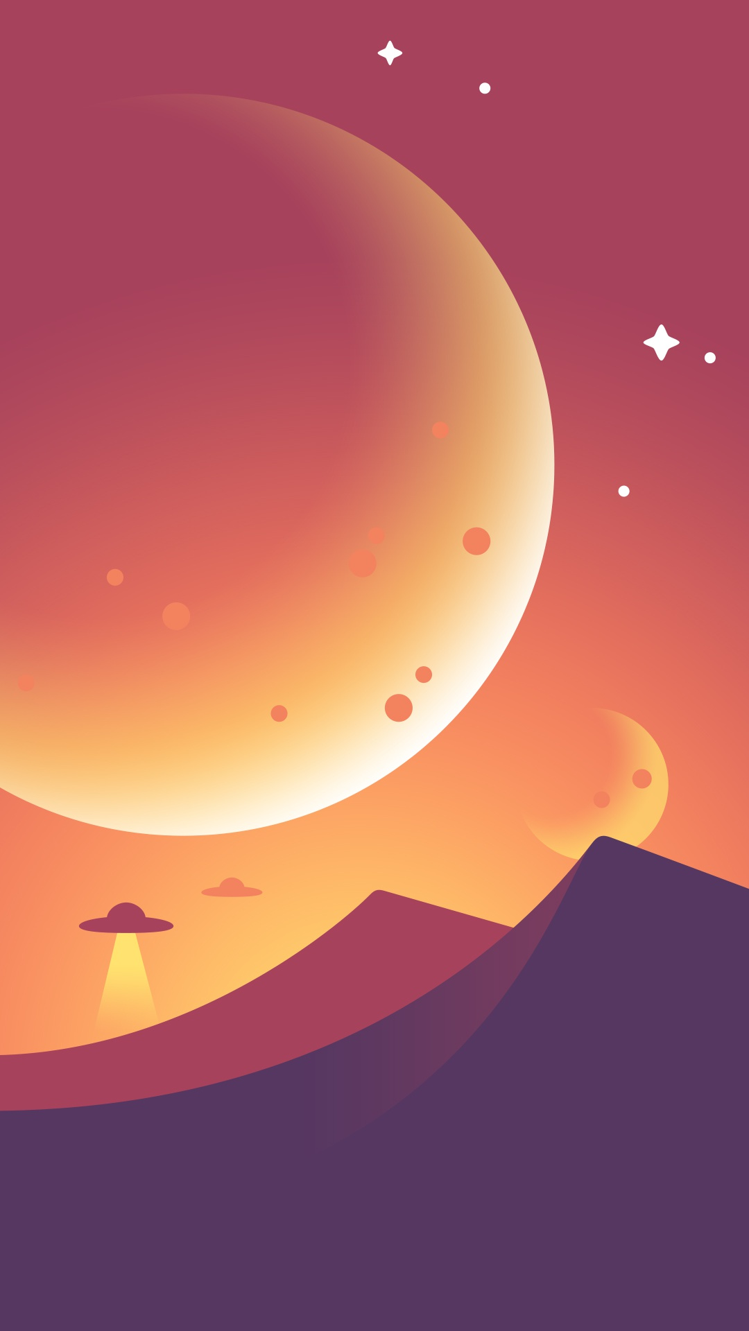 Dribbble galshir space wallpaper by gal shir for Space material design