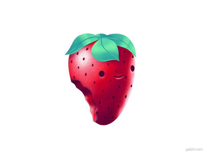 Strawberry 🍓 3d character strawberry