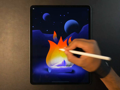 Campfire 🔥 drawing campfire fire illustration